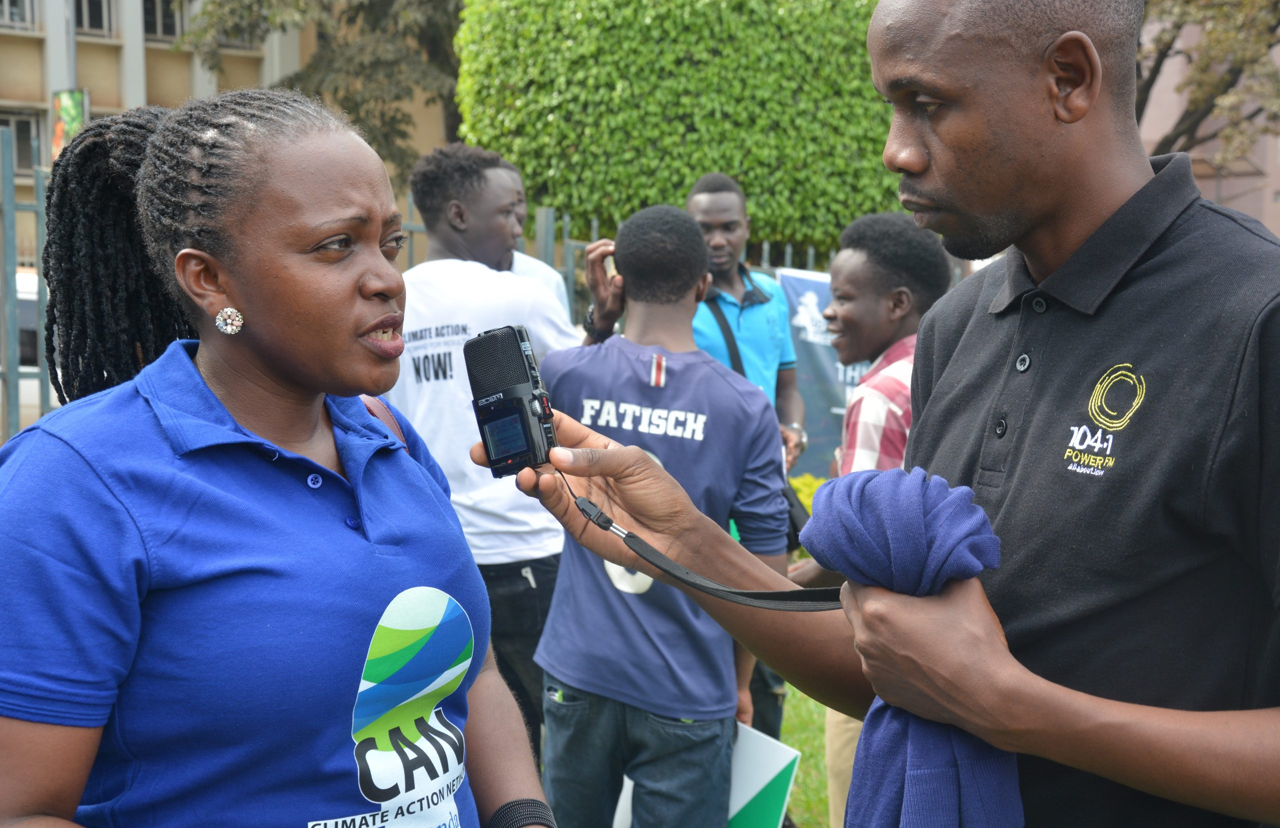 We engage the media to take our message out